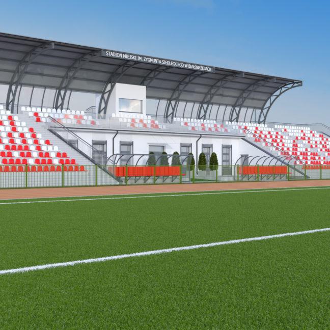 Białobrzegi Stadion im.  Zygmunta Siedleckiego