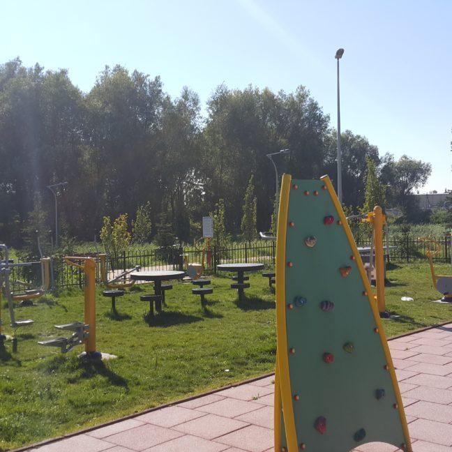 Drozdy / Tarczyn Plac Zabaw plus Siłownia