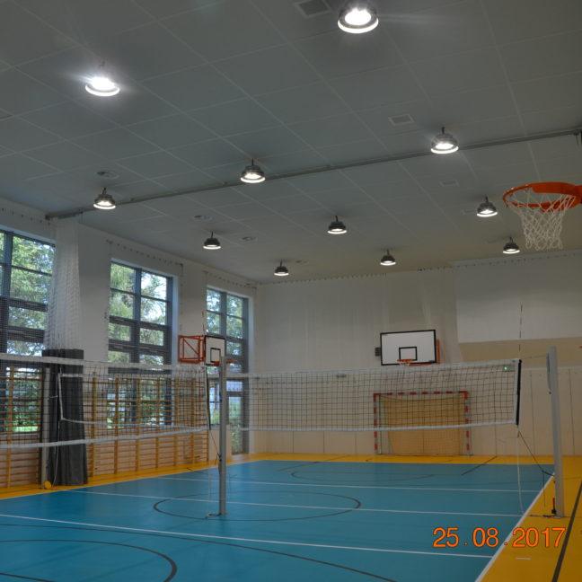 Prace Małe - Sala Gimnastyczna